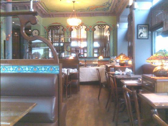 Tiffany Hotel: Dining room