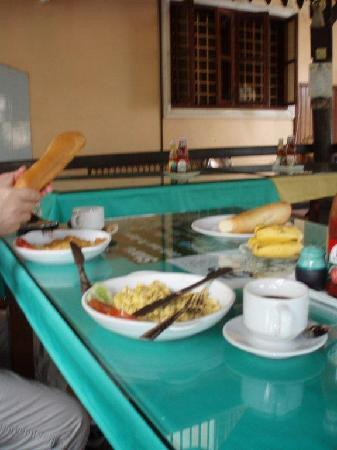 Chenla Guest House: breakfast