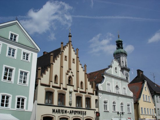 Freising, Germany: the main road