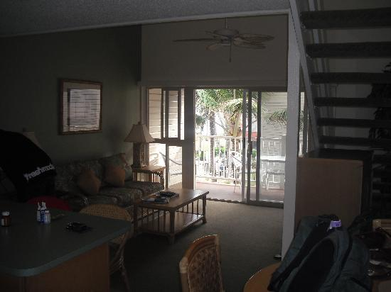WorldMark at Kapaa Shores: family room