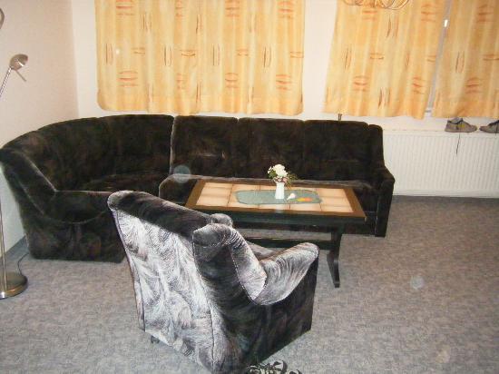 Jugendgastehaus Dresden: Suite 633 settee and chair