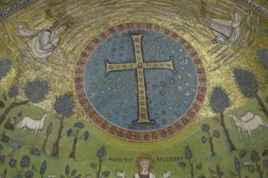Rávena, Italia: 6th C Mosaics