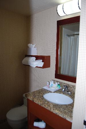 Four Points by Sheraton Los Angeles Westside: very small bathroom