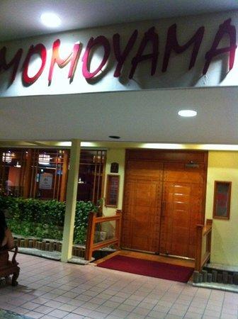 Momoyama: Restaurant Entrance