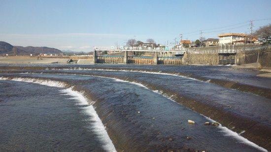 Prefectura de Tokio, Japón: 羽村取水堰。のんびりした場所です。