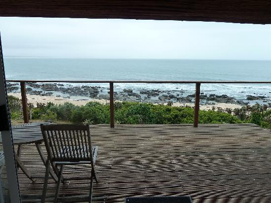 African Perfection Jeffreys Bay: the view