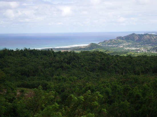 Saint Peter Parish, บาร์เบโดส: East coast from Farley Hill