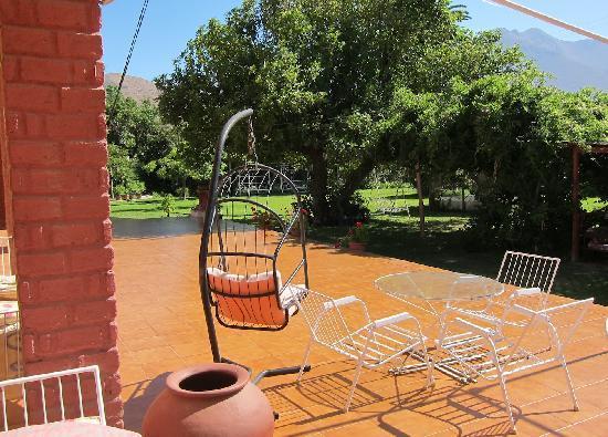 Hosteria Vicuna: La terrasse de l'hosteria