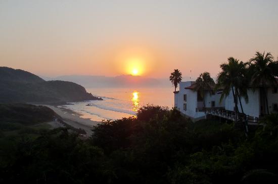 Punta Serena: lever du soleil