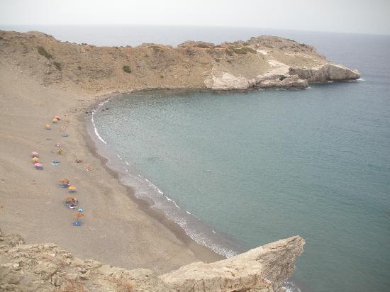 Agios Pavlos Hotel: Local beach
