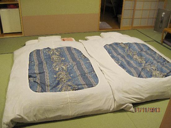 Yunokawa Prince Hotel Nagisatei : futon