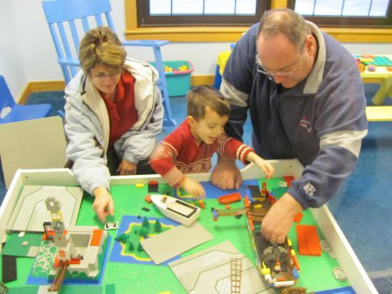 MWV Children's Museum: Lego room