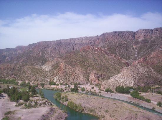 San Rafael, Argentine : Río Atuel