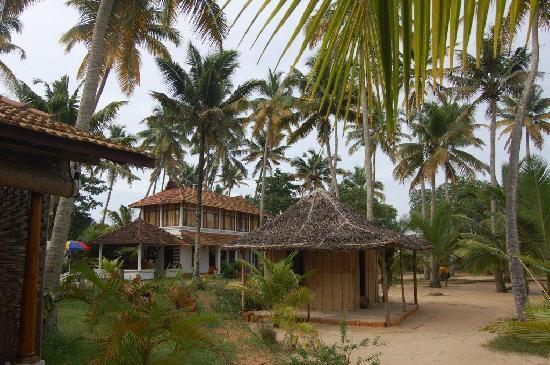 Ananda Beach Home: Bungalows / Jardin