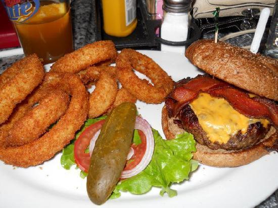 Burger Bar : Amy's dinner