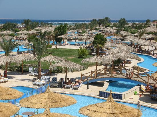 Pools picture of hilton hurghada long beach resort for Pool show in long beach