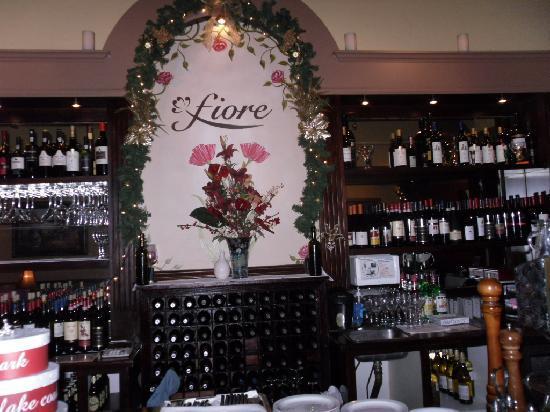 Fiore Restaurant : bar