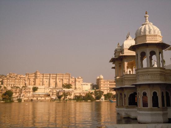Amrit Sagar: Views form the boat launch