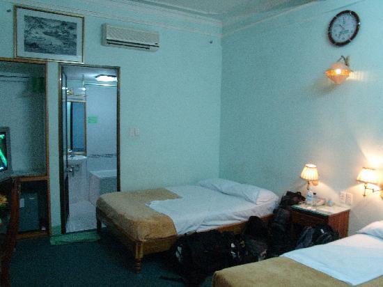 Bamboo Hotel : main beds