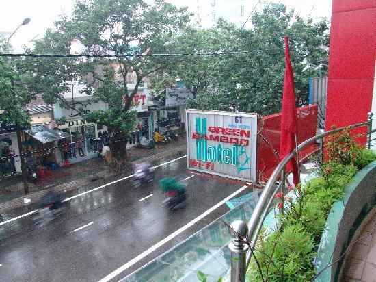 Bamboo Hotel : balcony view