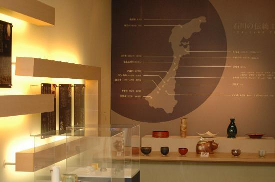 Ishikawa Prefectural Museum for Traditional Products and Crafts : エントランスホール