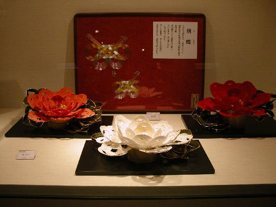Ishikawa Prefectural Museum for Traditional Products and Crafts : 水引き