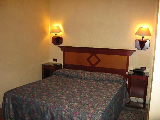 Hotel Corona D'Italia: the room
