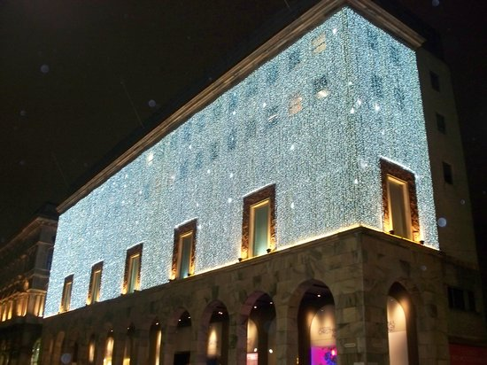 La Rinascente: notturno natalizio