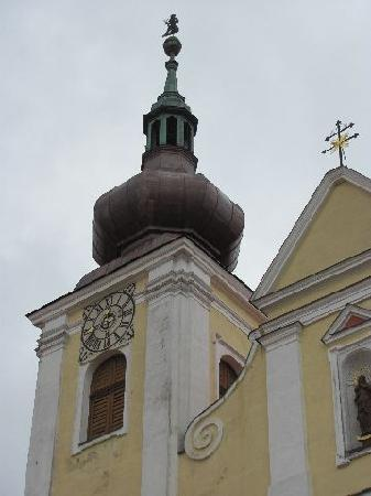 St. Peter and Paul Church: one of the two towers detail