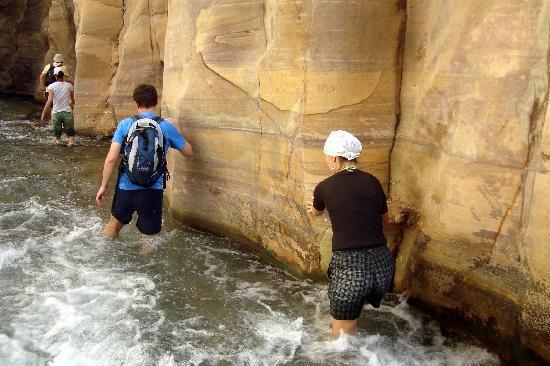 Wadi al-Mujib: first part