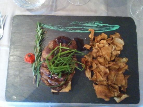 Restaurant La Lieutenance : Tagliata de Bœuf à la Normande «Façon Chef William»