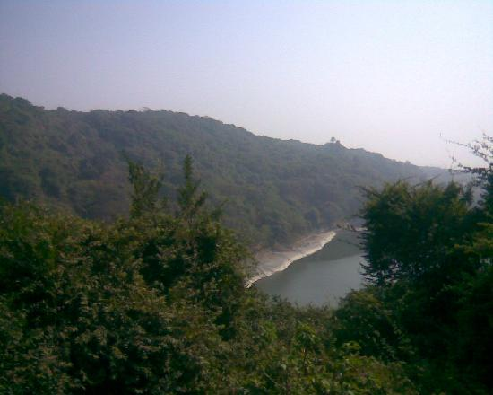 Elephanta Island, Indien: view from top