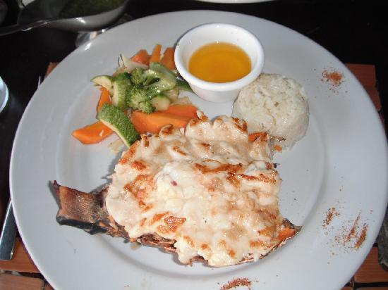 Blue Lobster: langouste delicieux