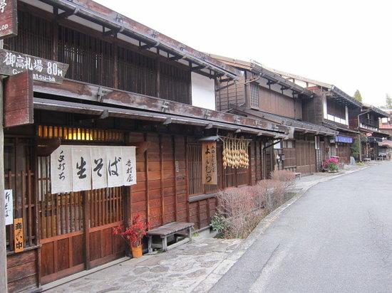 Nagiso-machi, Japan: 蕎麦屋