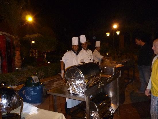 Jaz Makadi Oasis Resort and Club: Barbecue