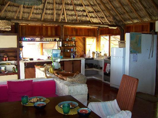Rancho Caphe Ha: Cantine - Kitchen