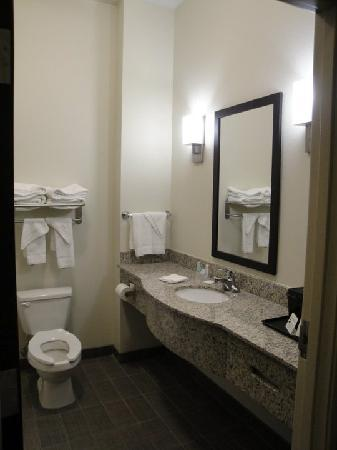 Bathroom picture of sleep inn suites cave city for Bathroom suites direct