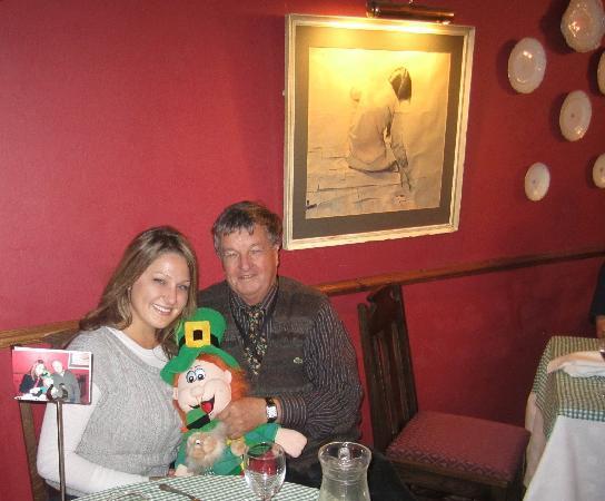 Abbeyglen Castle Hotel : Dinner with Paul