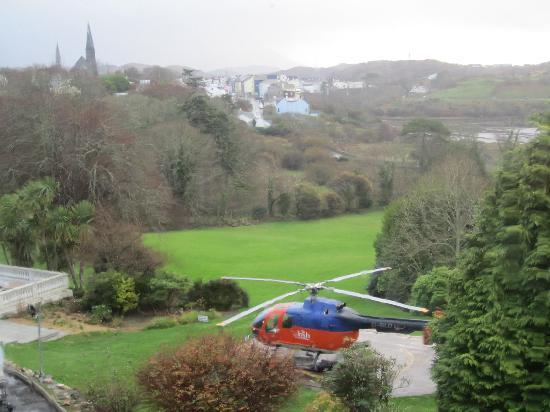 Abbeyglen Castle Hotel : Room with a view