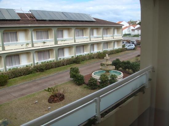 Hotel Canadiano: Cour de l'hotel