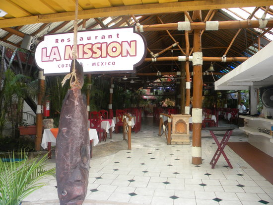 La Mission Restaurant Cozumel