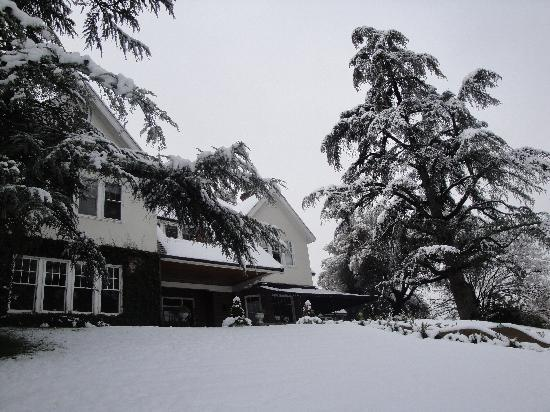 Sonora, Californien: Knowles Hill in Winter