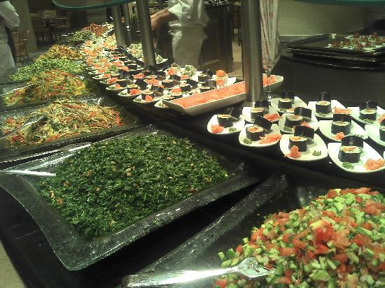 Dan Jerusalem Hotel: Dinner Buffet