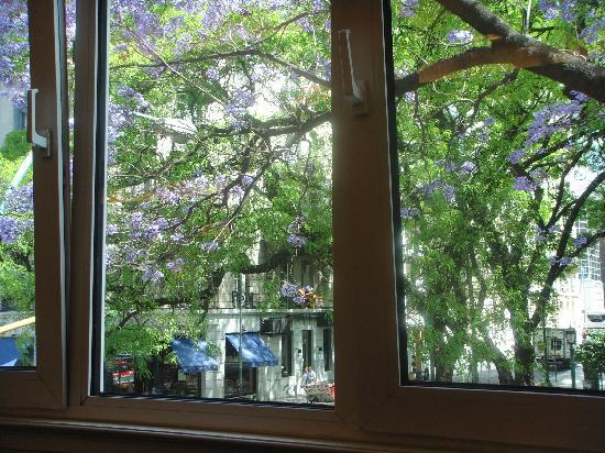 NH Buenos Aires Crillon: View from the breakfast restaurant