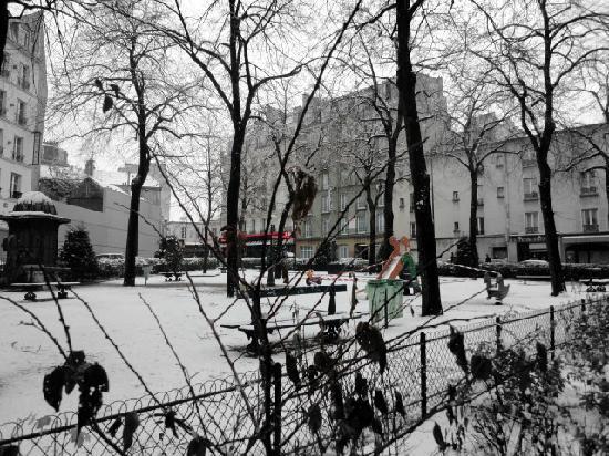 Central Hotel Paris : vue du quartier