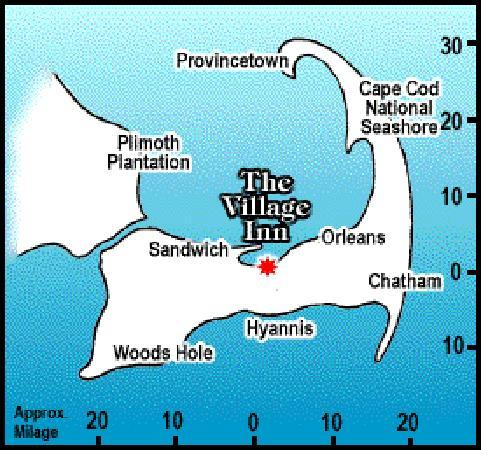 The Village Inn Cape Cod: location, location, location