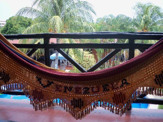 Posada Villa Del Sol: Hamac balcony room 8/9