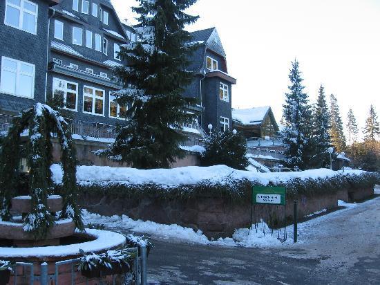 Ilmenau, Alemania: Hotelansicht Silvester 2008