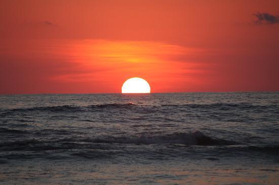 Villas Hermosas: The best sunset ever!