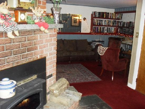 The Sugartree Inn: Lovely wood burning fire